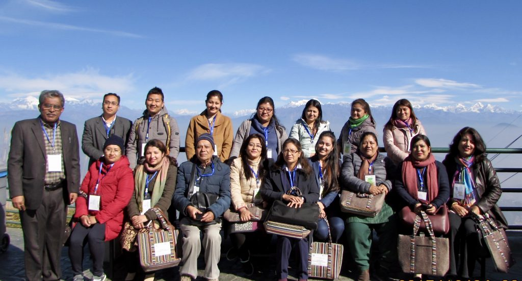 Participants at the International Symposium on Gender And Sustainable Development