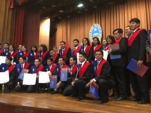 The 32 graduates